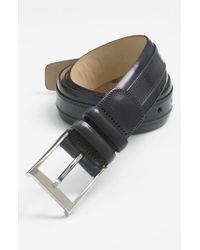 Mezlan | Gray 'napa' Belt for Men | Lyst