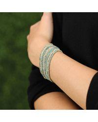 Carolina Bucci - Blue Looking Glass Bracelet - Lyst