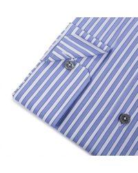 Paul Smith - Blue Wide Stripe Byard Shirt for Men - Lyst