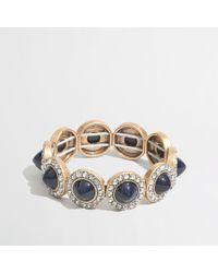 J.Crew | Blue Factory Gemstone Cones Bracelet | Lyst