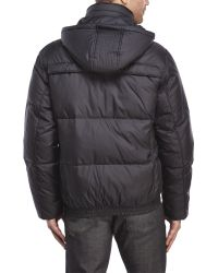Marc New York | Black Fauxmula Puffer Coat for Men | Lyst