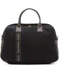 Yohji Yamamoto - Black Boston Bag for Men - Lyst