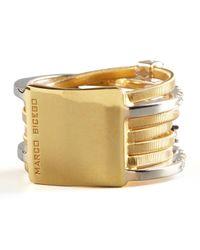 Marco Bicego | Metallic Goa Seven-row Mixed Gold Diamond Ring | Lyst