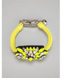 Shourouk   Yellow 'baraka Sierra' Bracelet   Lyst