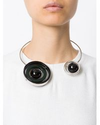 Marni   Black Planet Necklace   Lyst