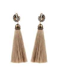 Lanvin | Natural Marina Swarovski-Embellished Earrings | Lyst