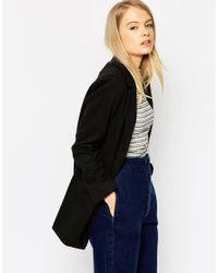 ASOS | Black Petite Ultimate Slim Coat | Lyst