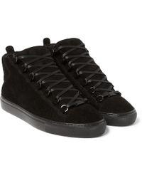 e7b6202b79e6 Lyst - Balenciaga Arena Sneakers in Black for Men