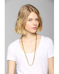 Luv Aj - Metallic The G Chain Necklace - Lyst