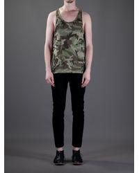 The White Briefs Green Wooster Vest for men
