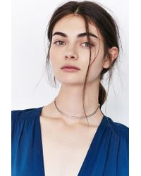 Urban Outfitters - Metallic Day And Night Thin Choker Necklace - Lyst