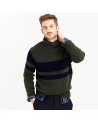 J.Crew | Green Wallace & Barnes English Wool Turtleneck Sweater for Men | Lyst