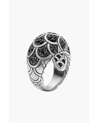 John Hardy | Metallic 'legends' Scale Dome Ring | Lyst