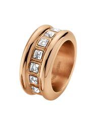 Dyrberg/Kern | Metallic Rayskin Ring | Lyst