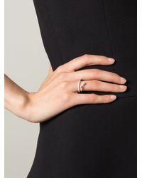 Delfina Delettrez | Metallic 'marry Me' Ring | Lyst
