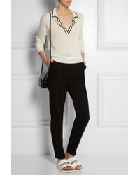 Totême  Black Rhones Cashmere Sweater