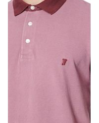 French Connection | Purple Photon Pique Polo Shirt for Men | Lyst