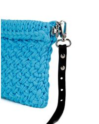 Wool And The Gang | Blue Lil' Hold Tight Clutch | Lyst