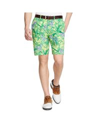 Ralph Lauren - Green Links-Fit Zebras-Print Short for Men - Lyst