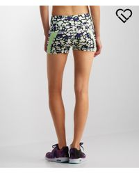 Live Love Dream   Multicolor Lld Abstract Print Pieced Volleyball Shorts   Lyst