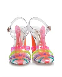 Sophia Webster - Pink Rosa Jelly Sandals - Lyst