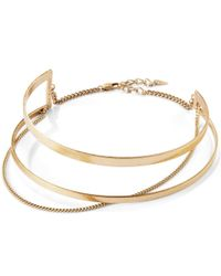 Jenny Bird | Metallic River Collar | Lyst