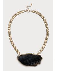 Bebe | Black Agate Short Necklace | Lyst