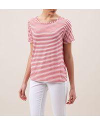 Hobbs - Pink Orla T Shirt - Lyst