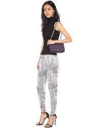 Tory Burch | Robinson Adjustable Shoulder Bag - Purple Iris | Lyst