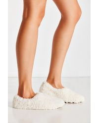 Urban Outfitters - White Uo Fluffy Slipper - Lyst