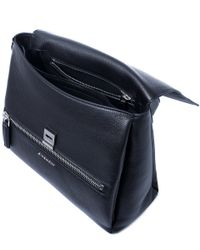 Givenchy - Small Black Pandora Pure Leather Bag - Lyst