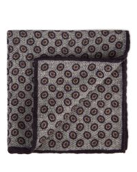 Aquascutum | Purple Jason Circle Printed Handkerchief for Men | Lyst