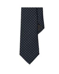Ralph Lauren Black Label | Blue Polka-dot Wool-silk Narrow Tie for Men | Lyst