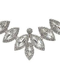 John Lewis - Metallic Leaf Shape Necklace - Lyst