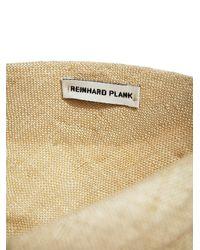 Reinhard Plank - Natural New Season - Womens Turbino Straw Hat - Lyst