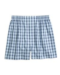Brooks Brothers - Blue Traditional Fit Framed Check Boxers for Men - Lyst
