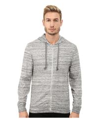 Alternative Apparel | Gray Eco Space Dyed Thermal Nomadic Hoodie for Men | Lyst