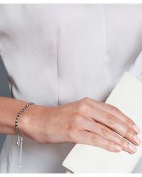 Astley Clarke | Metallic Tiny Love Disc Black Rutheniumplated Charm Bracelet | Lyst