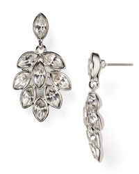 Carolee | Metallic Navette Chandelier Earrings | Lyst