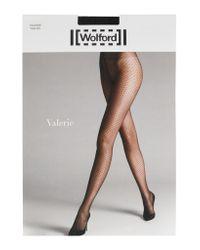 Wolford - Black Valerie Polka-dot 20 Denier Tights - Lyst