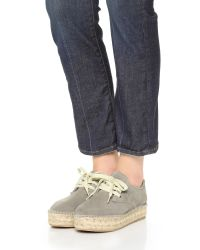 Steven by Steve Madden Gray Phylicia Espadrille Sneakers