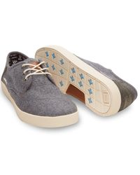 TOMS Gray For Movember Grey Wool Men'S Paseos for men