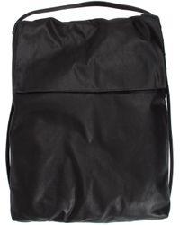 Rick Owens - Black Flat Shoulder Bag for Men - Lyst