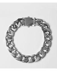 AllSaints - Metallic Tia Necklace - Lyst