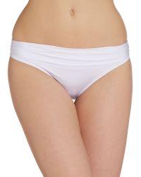 Biba - White Goddess Bikini Brief - Lyst
