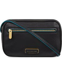 Marc By Marc Jacobs | Black Sally Leather Cross-body Bag - For Women | Lyst