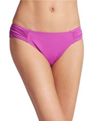 Tommy Bahama | Purple Side Sheered Bikini Bottom | Lyst