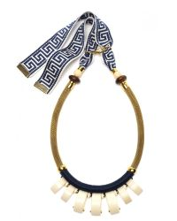 Lizzie Fortunato Metallic Casa Azul Necklace