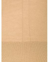 Rag & Bone - Brown V Neck Ribbed Hem Sweater - Lyst