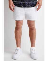 Forever 21 | White Pull-on Chino Shorts for Men | Lyst